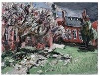 magnolie vor dem regen by christopher lehmpfuhl