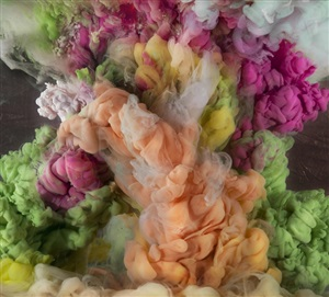 abstract 9537c by kim keever