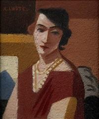 portrait d'anne en buste by andré lhote
