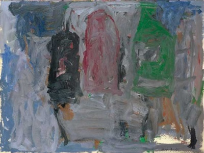 winter ii by philip guston