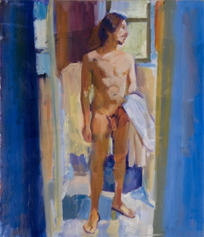 brian after a bath by mcwillie chambers