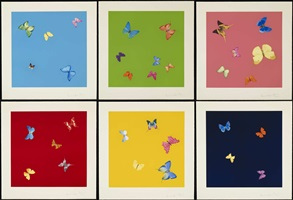 love poems (a series of 6) by damien hirst