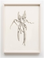 untitled (small goth lilies) by aurel schmidt