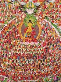 chakras no.1 by ye hongxing