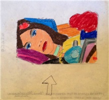 study for great american nude by tom wesselmann