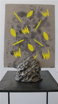 cfv pedestal -1 (yellow) by hector a. arce