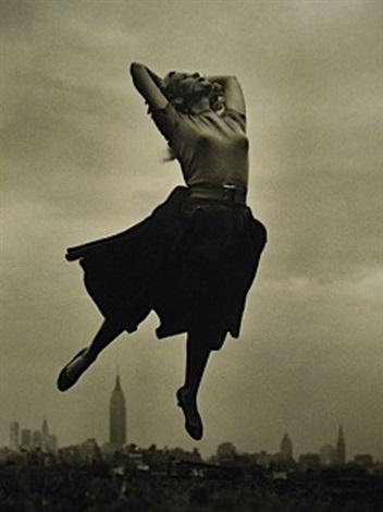 eva marie saint jump by philippe halsman