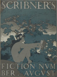 scribner's - fiction number august by maxfield parrish
