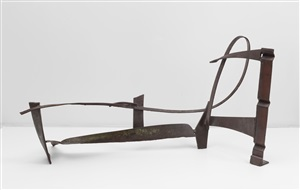 floor piece b124 by anthony caro