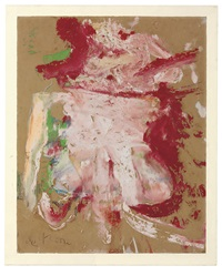 untitled by willem de kooning