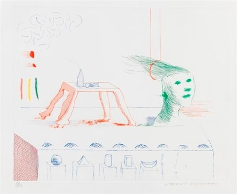 a moving still life by david hockney