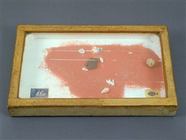 untitled (sand box) by joseph cornell
