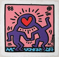 untitled by keith haring