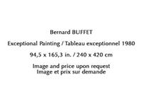 exceptional painting by bernard buffet