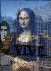 mona lisa + tu ejemplo vive by davide bramante