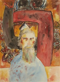 alan davie by john bellany