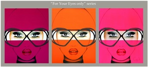 for your eyes only series by anja van herle