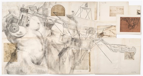 voyager 1, drawings #1274, 1275, 1276, 1277, 1278 & 1279 by james drake