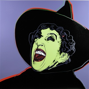 witch by andy warhol