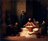 the koran school by ludwig deutsch