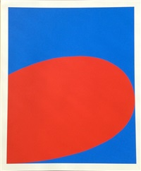 red/blue by ellsworth kelly