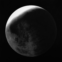 untitled (moon) by robert longo