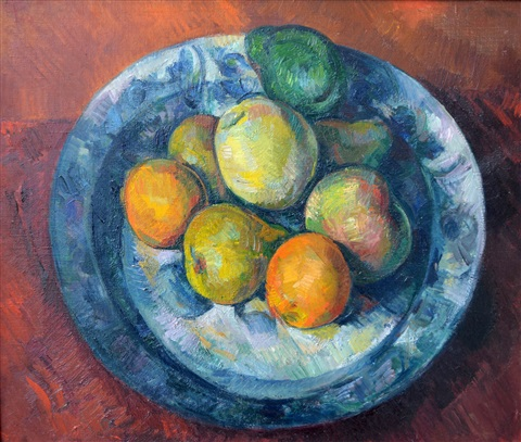 still life with fruit by paul feiler