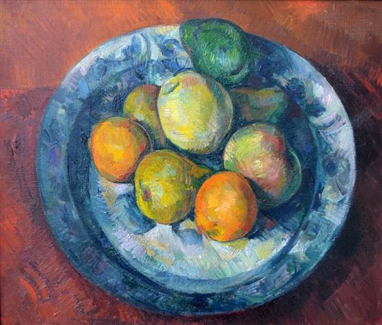 still life with fruit by paul feiler