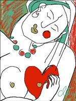 heartbreak / gebrochenes herz by jacqueline ditt