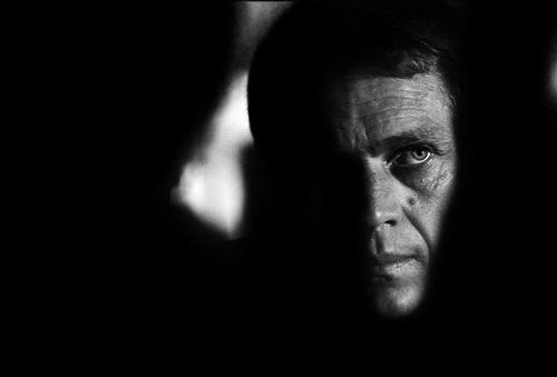steve mcqueen 'bullitt shadow' by barry feinstein