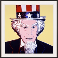 myths - uncle sam by andy warhol