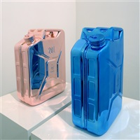 red gold petrol & sky blue petrol by marc rembold