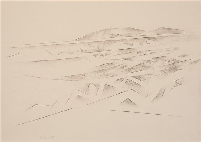 arroyo hondo valley by andrew michael dasburg