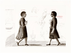 homage to michelangelo by david hockney