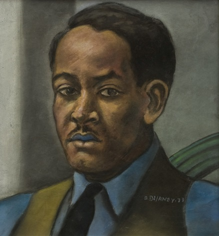 portrait of joseph delaney by beauford delaney