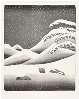 snow without colour by david hockney