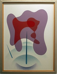 oil #6 by raymond jonson