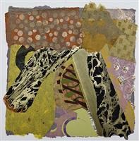 gold stripes by joellyn duesberry