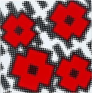 flwrs (red) by shinji murakami
