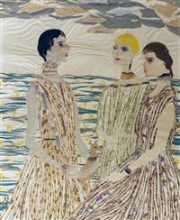 three women by hilla rebay von ehrenwiesen
