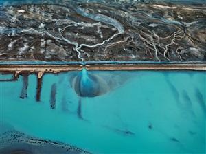cerro prieto geothermal power station by edward burtynsky