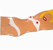 cut-out nude by tom wesselmann