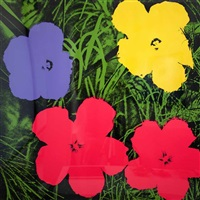 flowers (2) by andy warhol