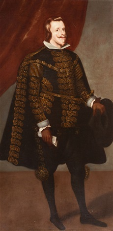 philip iv king of spain by diego rodríguez de silva y velásquez