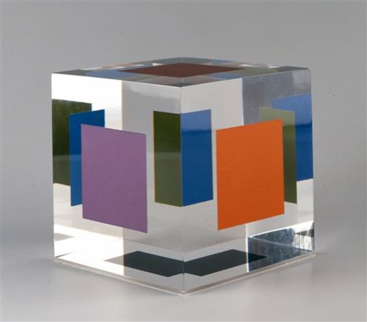 mini-cube by jesús rafael soto