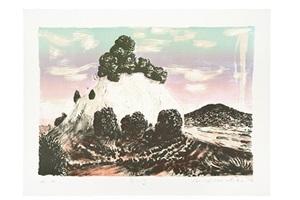 berg by matthias weischer