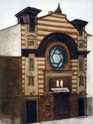 first roumanian american synagogue by linda adato