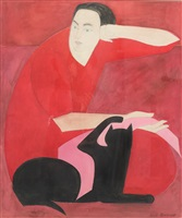 the red robe by will barnet