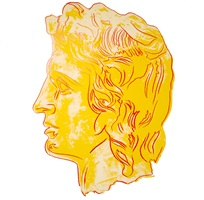 alexander the great, ii.291 by andy warhol