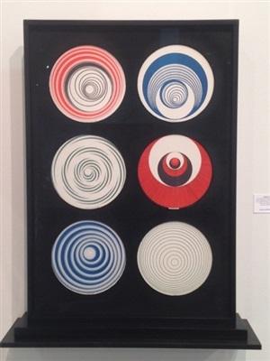 rotoreliefs (6 double-sided works) by marcel duchamp